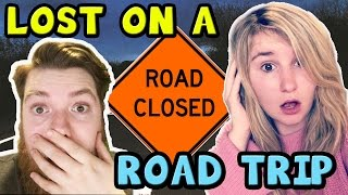 LITTLE KELLY GETS LOST ON A ROAD TRIP! Kelly and Carly Vlogs