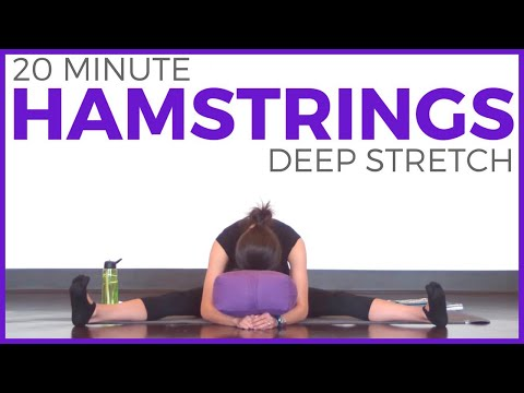 20 Minute Deep Stretch Yoga For Hamstrings | SarahBethYoga