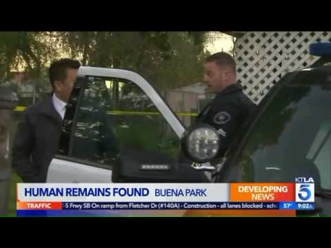 Man Finds Human Remains While Digging in Backyard of Buena Park Home