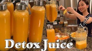 Detox Juice for healthy skin, Eyes and Digestion - Nước uống tốt cho da mắt và tiêu hoá