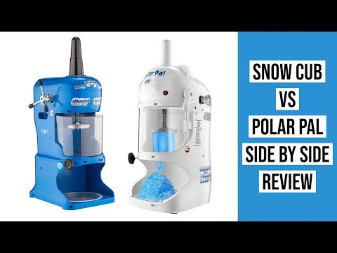 Shaved ice equippment snow planes