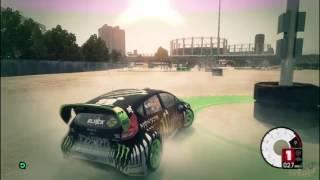 Dirt3 Free Roam Gymkhana- Ford Fiesta Ken Block