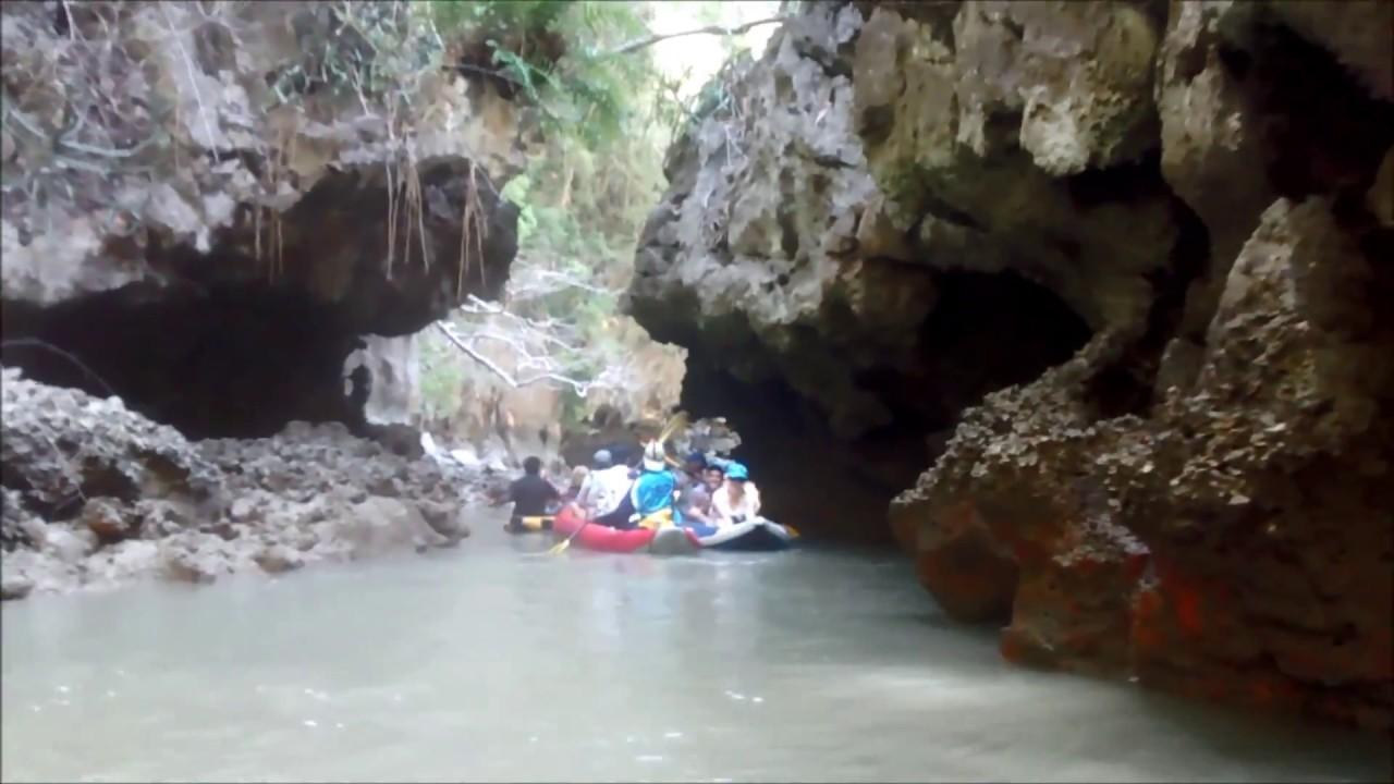 Exploring The Secret Sea Caves Near James Bond Island Phuket Cave Kayaking