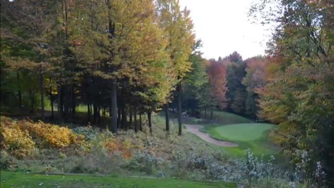 Pine Valley Hole 17 FALL FOILIAGE Spectacular - YouTube