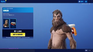 *NEW* BIGFOOT SKINS! - Item Shop June 28th (Fortnite Battle Royale Livestream)