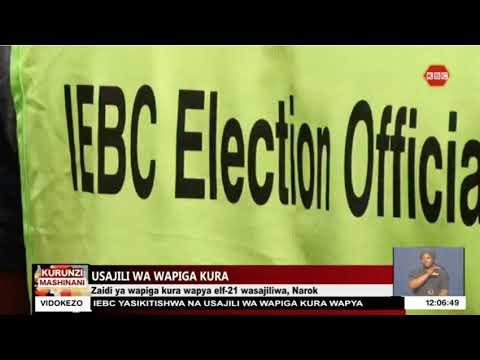 Download Zaidi ya wapiga kura wapya elfu 21 wasajiliwa, Narok