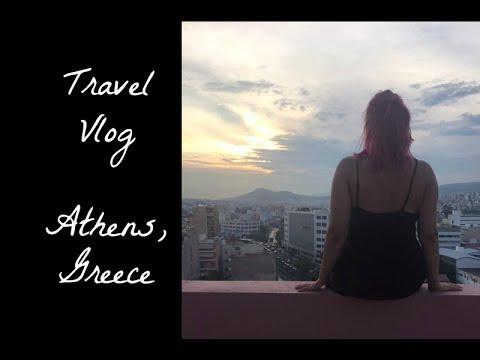 Travel Vlog 3 // ATHENS, GREECE