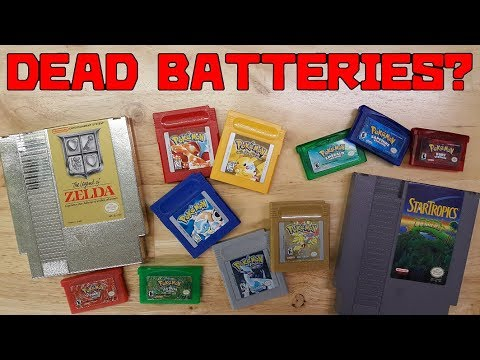 How Long Will Retro Game Save Batteries Last For?