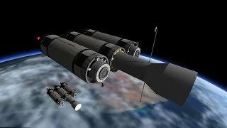 Kerbal Space Program - Von Braun Mars Mission - RSS