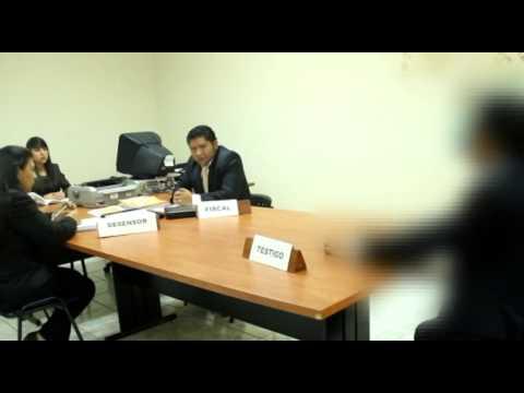 Audiencia de Anticipo de Prueba con Testigo Protegido, Grupo 3, San José Pinula, Universidad Mariano