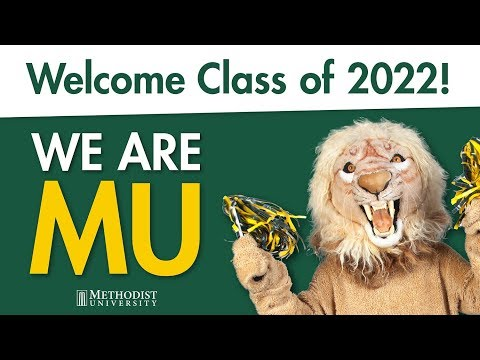 Methodist University New Student Orientation 2018