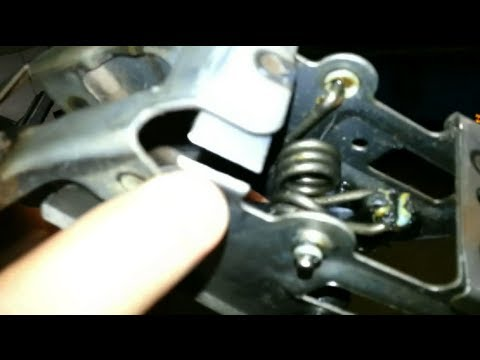 broken clutch pedal repair turbo spec v youtube 2007 nissan pathfinder owner's manual nissan pathfinder manual 2005