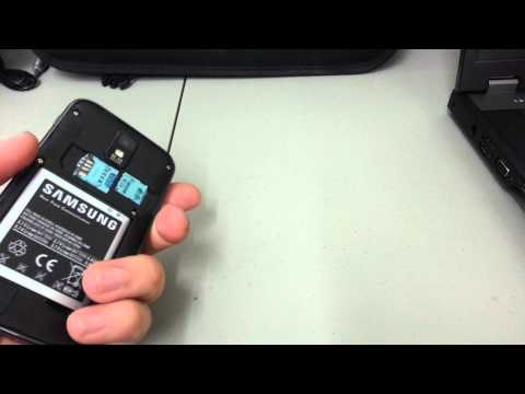 How To Hard/Factory Reset Samsung Galaxy S II 2 White Or Black Android Smartphone