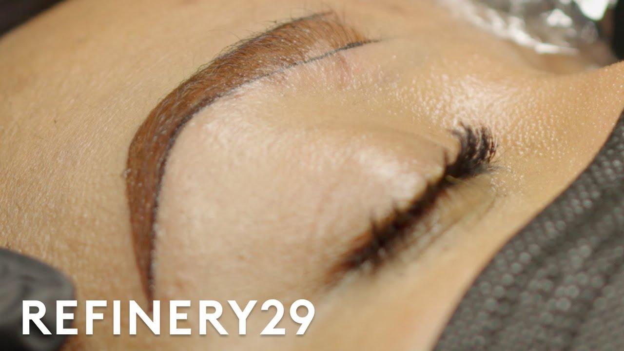 I Tried Ombré Eyebrow Microblading | Macro Beauty