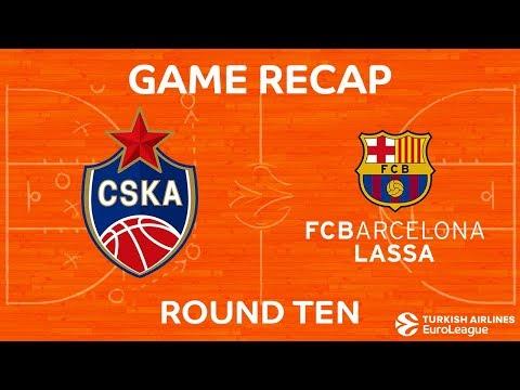 Highlights: CSKA Moscow - FC Barcelona Lassa