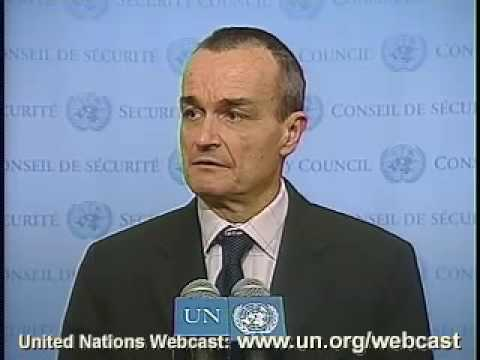 MaximsNewsNetwork: FRANCE'S GERARD ARAUD: NUCLEAR NON-PROLIFERATION & UN SECURITY COUNCIL (UNTV)
