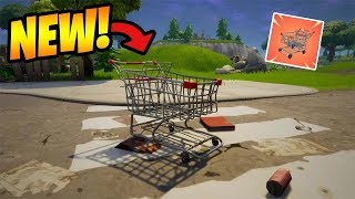 FORTNITE PC PATCH UP! SHOPPING CARTS AS VEHICLES WILL COME OTHER? [SPONSOR 02/05]