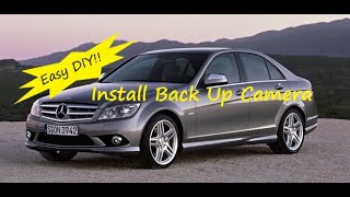 Repeat youtube video Mercedes W204 C Class How to Install Back Up Reverse Camera COMAND Command APS Navigation