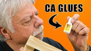 Working with CA Glue Adhesives in Woodworking (Super Glue, Krazy Glue)