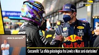 """Ceccarelli: """"La sfida psicologica tra Max e Lewis sarà durissima"""""""