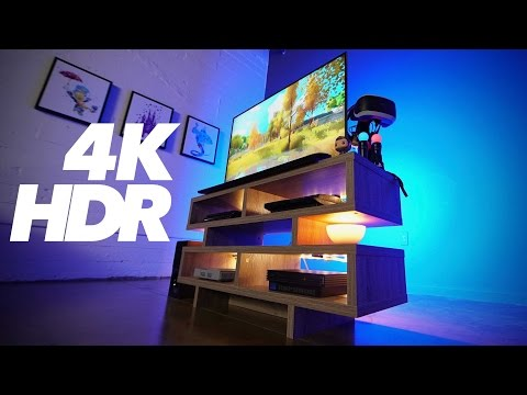 PS4 Pro HDR 4K Ultimate Gaming Setup!