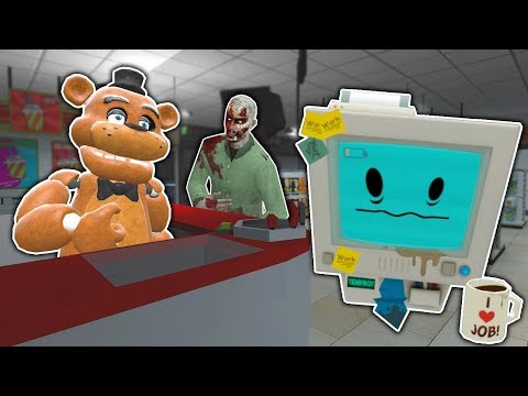 JOB SIMULATOR ENDS IN ZOMBIE SURVIVAL - Garry's Mod Gameplay - Gmod FNAF Zombie Survival thumbnail
