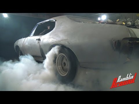First Burnout - 1968 Pontiac GTO Project Car