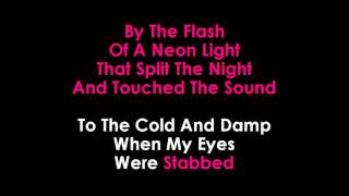 Disturbed Sound of Silence karaoke