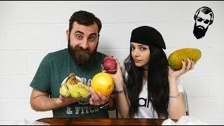 ეგზოტიკური ხილის დაგემოვნება