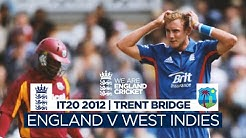 Thrilling Clash Goes To Final Over Classic Highlights England v West Indies T20 2012