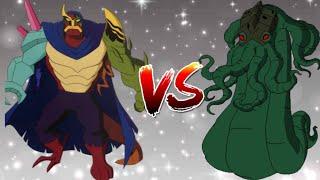 Ultimate Kevin VS Dagon II Who is Powerful II Explain In Hindi II Megazord X II