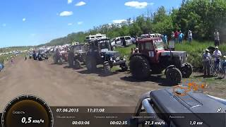 Трактор САНЁК под первым номером на БизонТрекШоу 2015