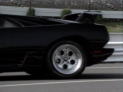Motorweek Retro Review 93 Lamborghini Diablo Youtube