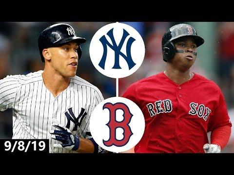 Yankees vs. Red Sox Highlights | September 8, 2019 | 2019 MLB Season