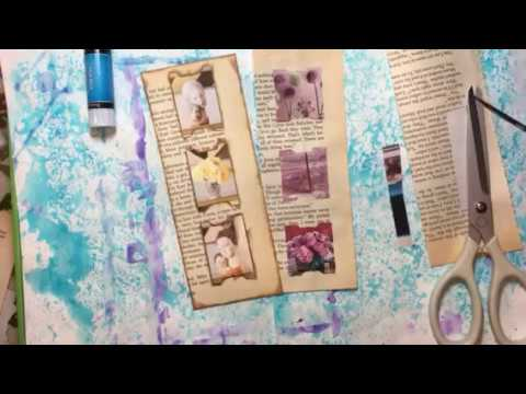Journal On A Budget Video 22 Diy Film Strip Side Tuck Belly Band