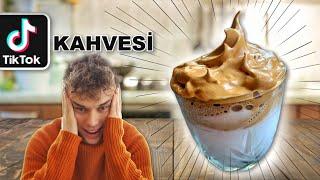 1 DAKİKADA TikTok KAHVESİ YAPIMI (Evde Karamelize Köpük Kahve)