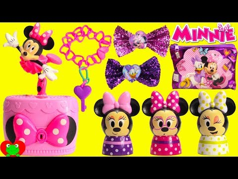 Disney Minnie Mouse Musical Jewelry Box