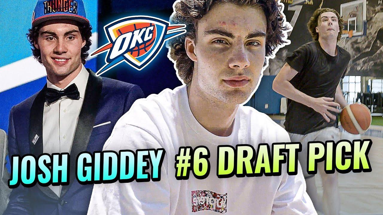 How Josh Giddey Became The #6 NBA Draft Pick! Inside Australian's Life - Training, Shopping & More!