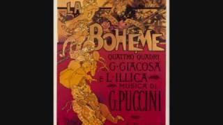 Carlo Bergonzi. Che gelida manina! La Bohème. Giacomo Puccini.