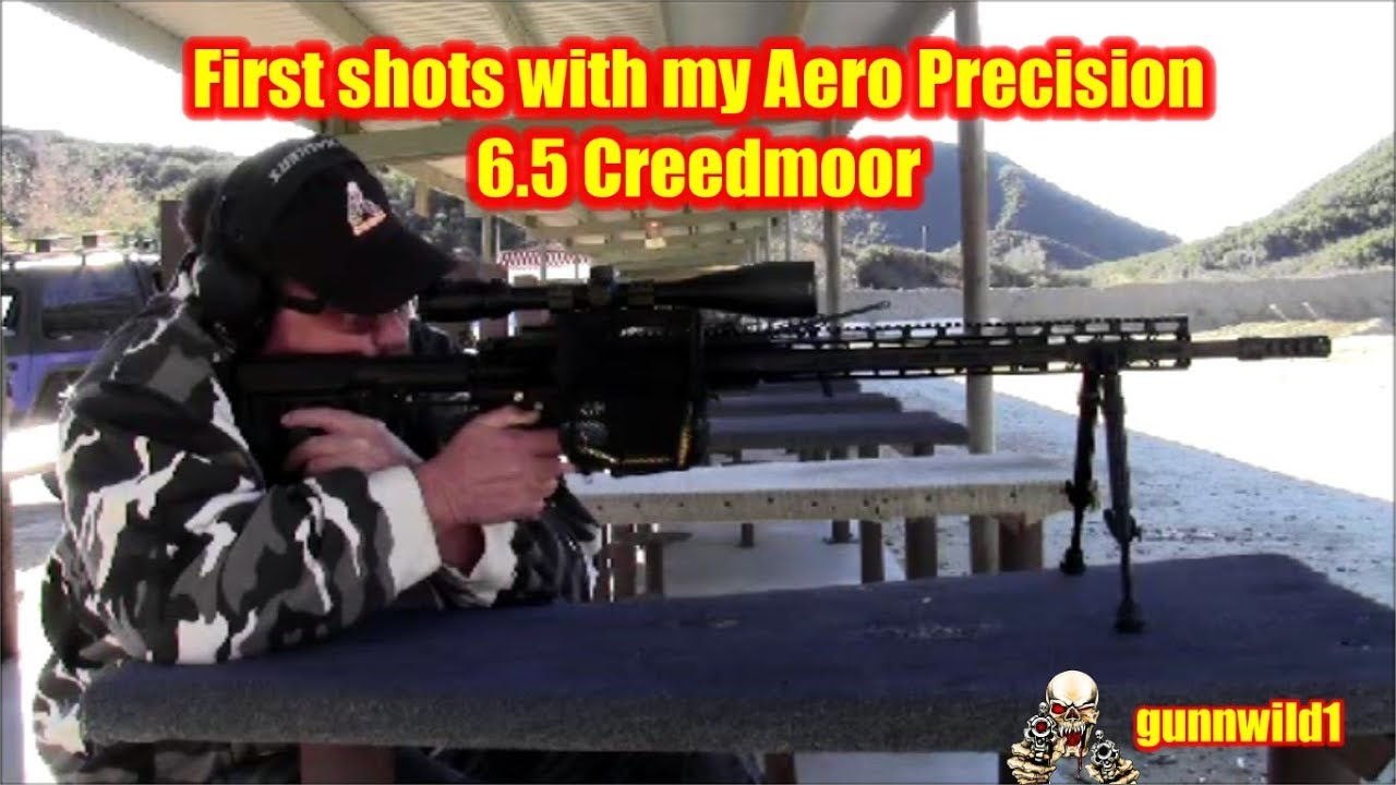 First shots with the Aero Precision 6.5 Creedmoor