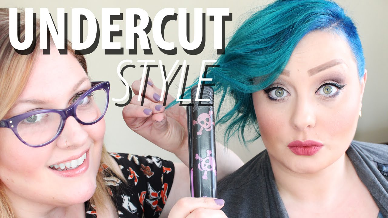 How to Style an Undercut | Hairstyle for Women