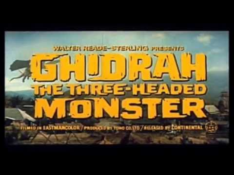 Ghidrah, the Three-Headed Monster (1964) - American Theatrical Trailer