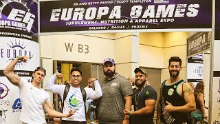 EUROPA 2019 ORLANDO FITNESS EXPO | EPIC DAY AT FITNESS EVENT