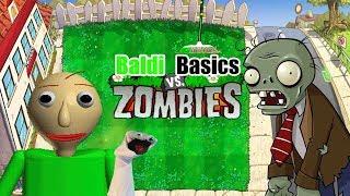 Baldi Basic Vs zombies-Bowser12345