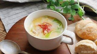 【365日のパンとスープ】ふわふわ卵とツナの中華スープ (instagramアカウント vivienne_glow さん考案レシピ) ━━━━━━━━━━━━━━━━━...