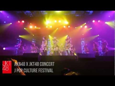 JKT48 live performance: AKB48xJKT48 concert [J-Pop Culture Festival]