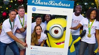 A #ShareKindness Mannequin Challenge with USA...