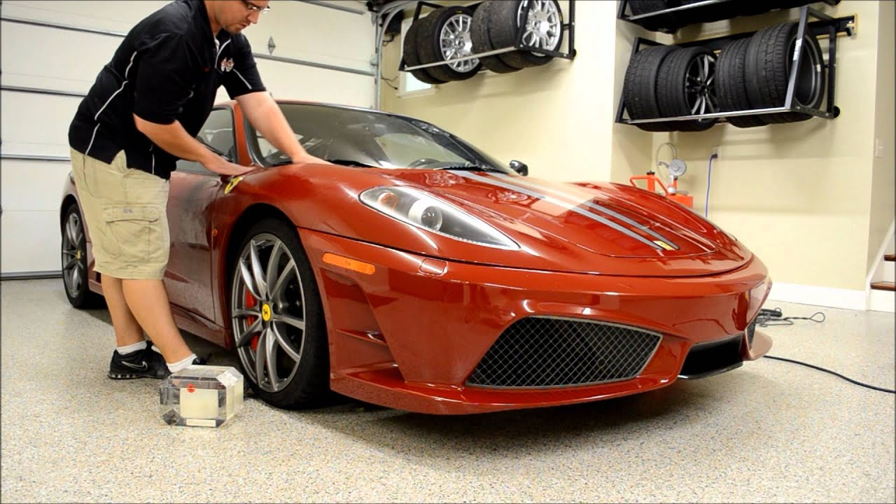 Ferrari F430 Car Detailing Lancaster Pennsylvania   YouTube