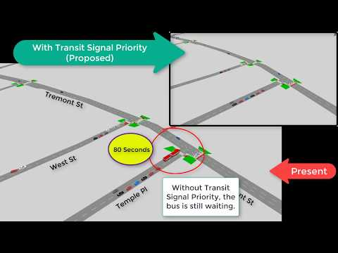 Transit Signal Priority for Silver Line 5 (SL5)