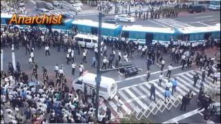 Tokyo Anarchist and Police Professionalism